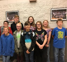 Junior High Choir attends Big Sing