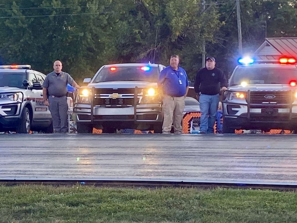 Members of Bourbon County Sheriff's Department