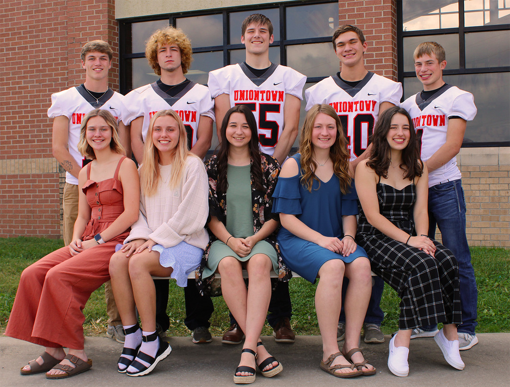 UHS 2020 Fall Homecoming candidates