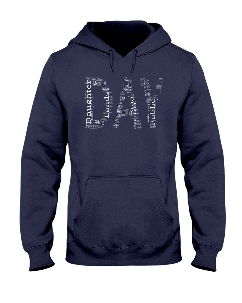Hoodie with the word DAY on it