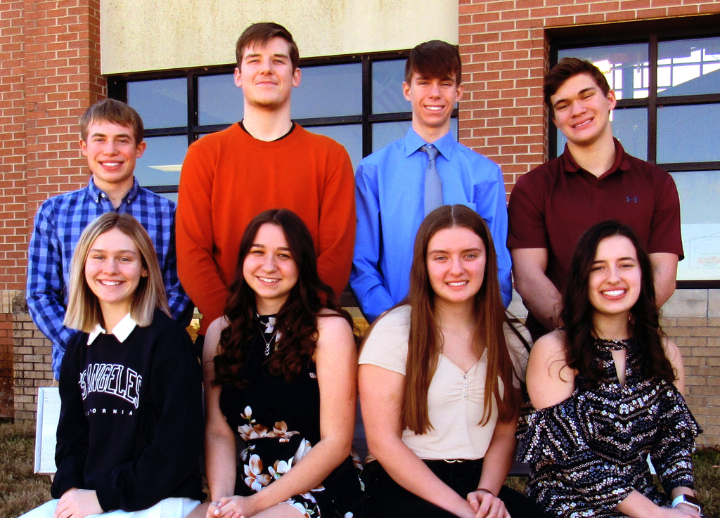 UHS Winter Homecoming candidates