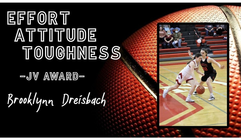 Picture of Junior Varsity Girls Basketball Player of the Week Brooklynn Dreisbach