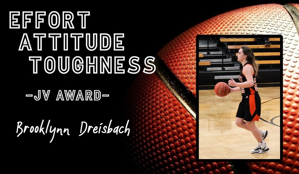 Picture of JV Girls Basketball Player of the Week Brooklynn Dreisbach