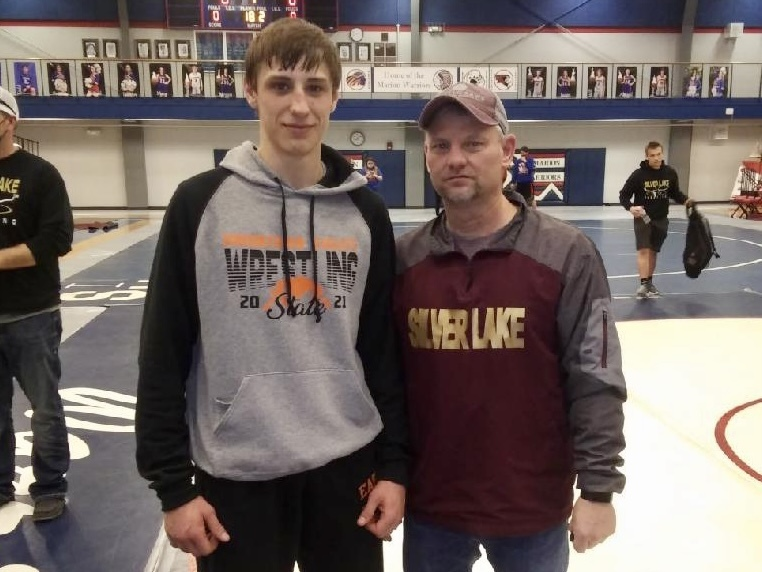 Bryce Eck was selected by coaches as the Outstanding Wrestler of the SubState Tournament