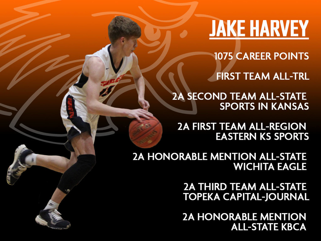 Jake Harvey's season honors