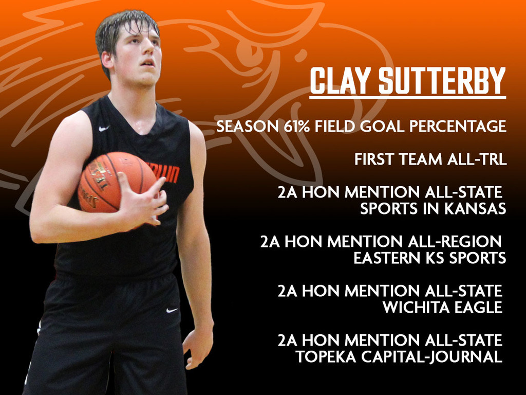 Clay Sutterby's season honors