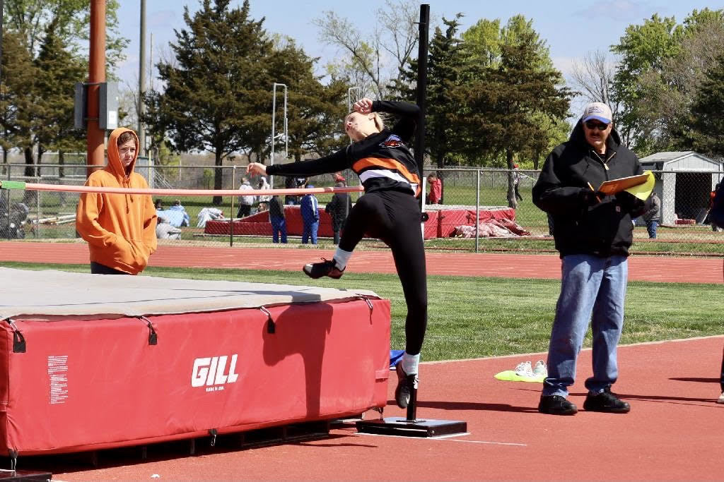 Paige Mason in the High Jump
