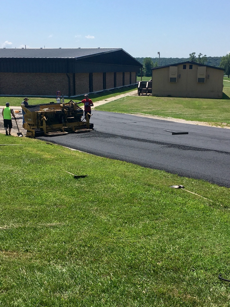 WBE drive overlay is underway.