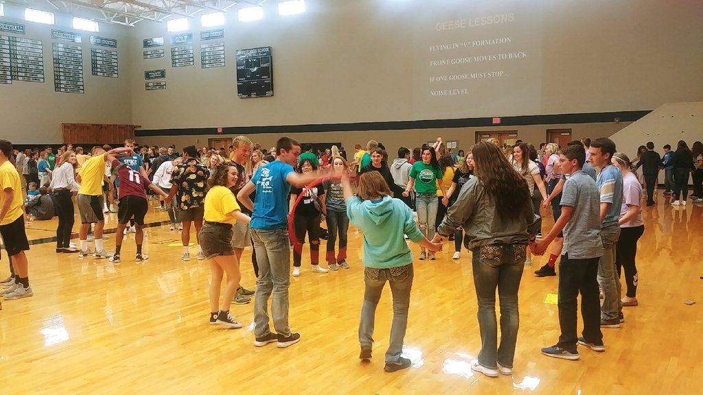 photo of students at the Regional StuCo Conference