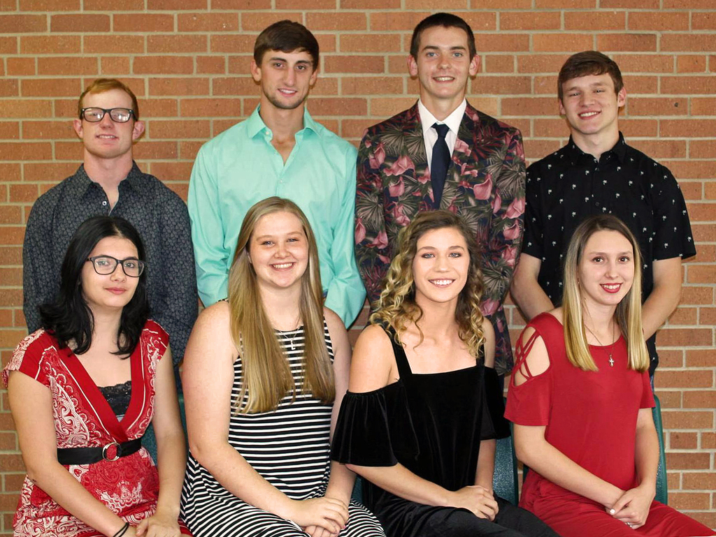 Uniontown High School 2019 Fall Homecoming candidates