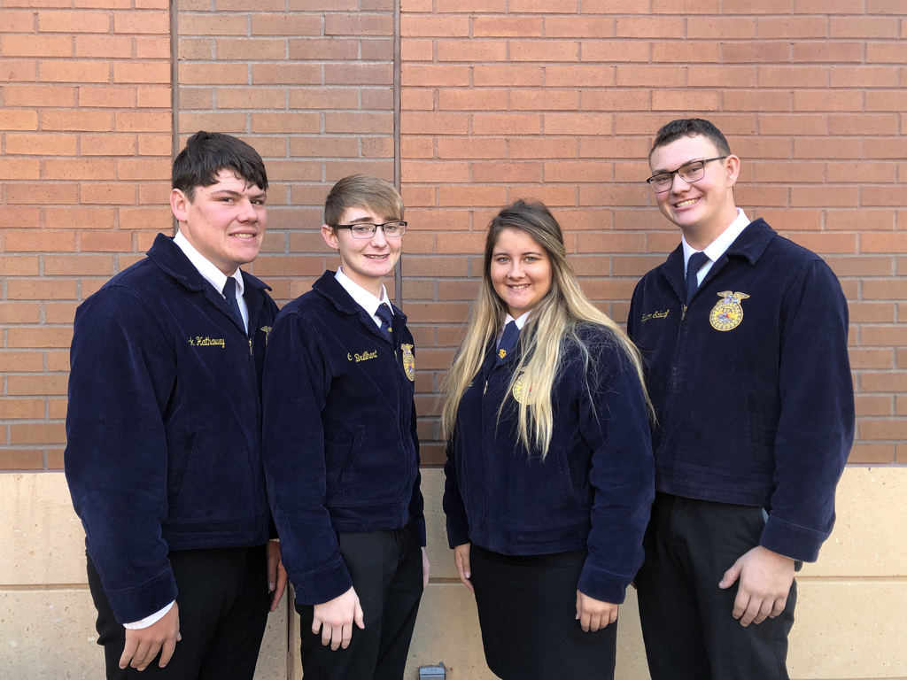 Uniontown FFA finished 5th at National Livestock Evaluation Contest!