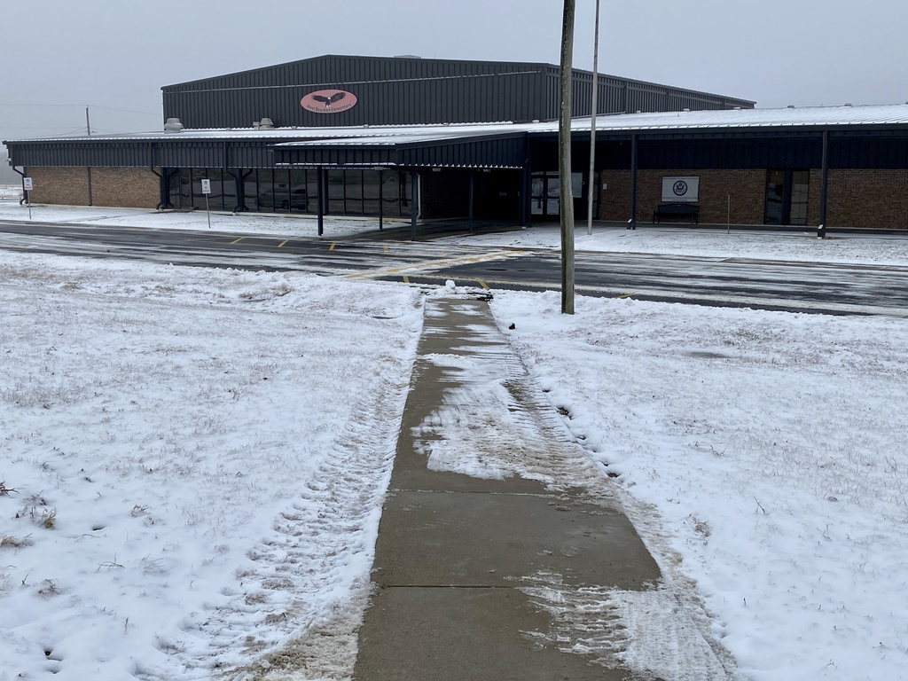 WBE sidewalks and drive cleared of snow