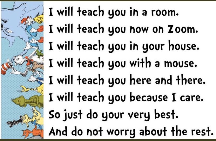 Dr. Seuss rhyme