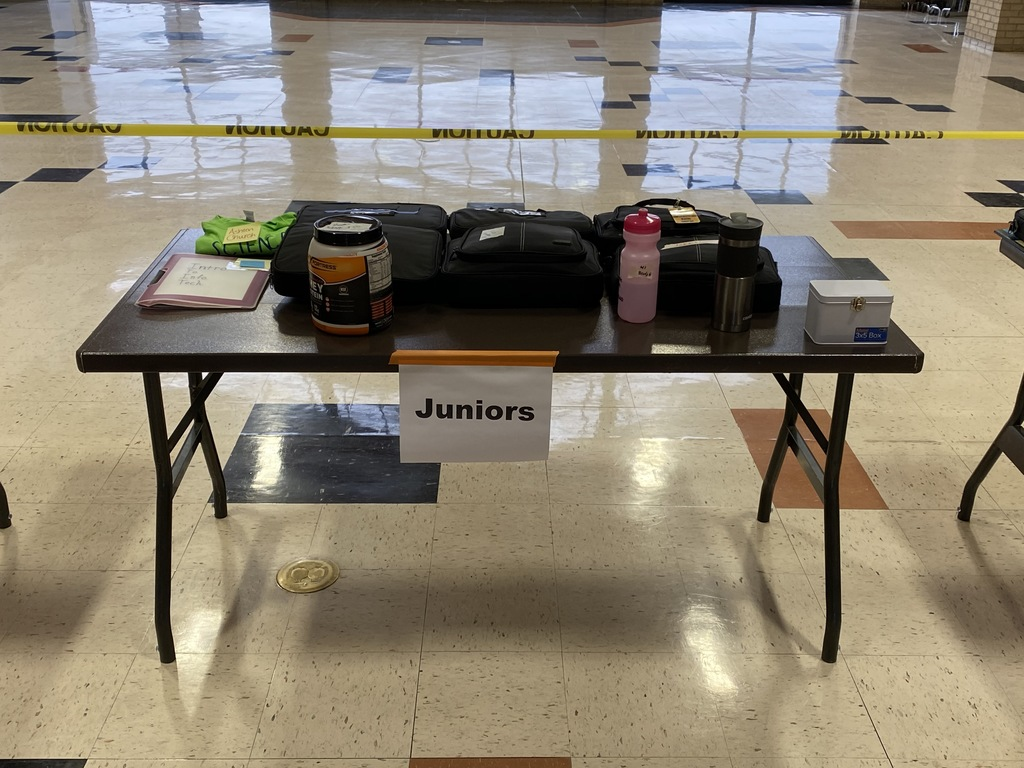 Junior table for pick up day