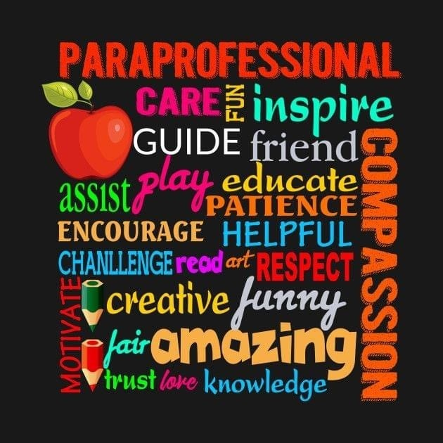 National Paraprofessional Day Poster Picture