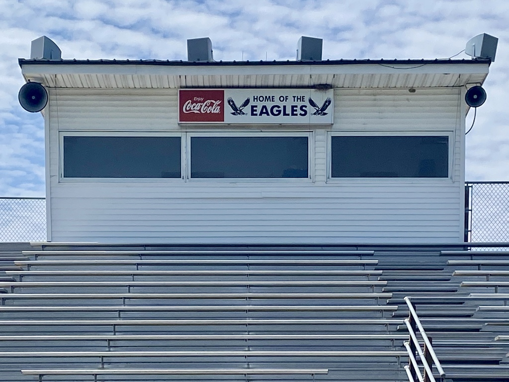 Press Box at Football Field