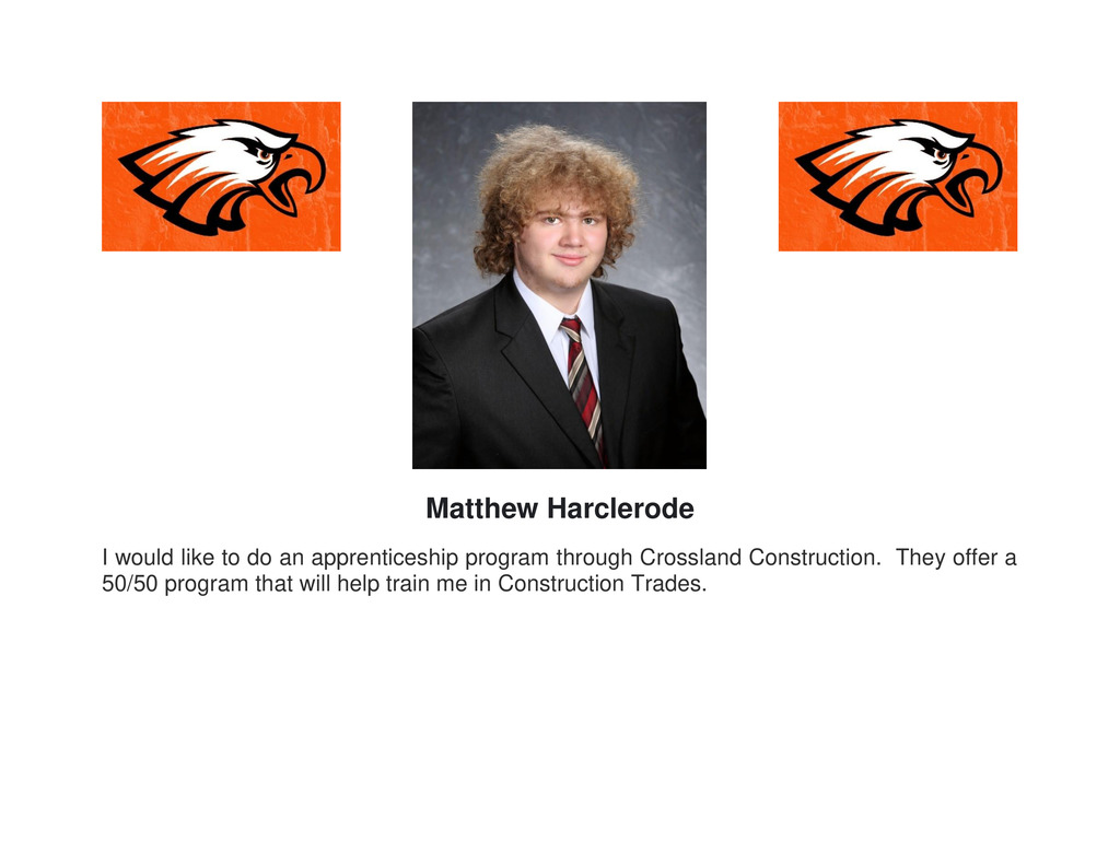 Picture of Senior Matthew Harclerode