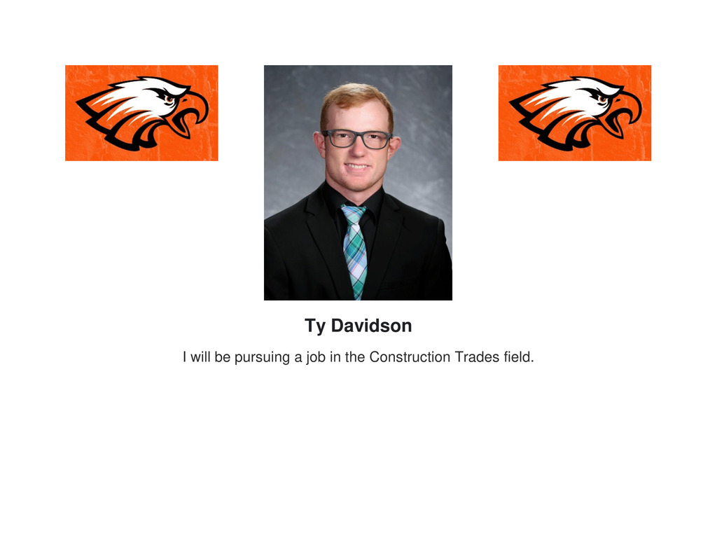 Picture of senior Ty Davidson