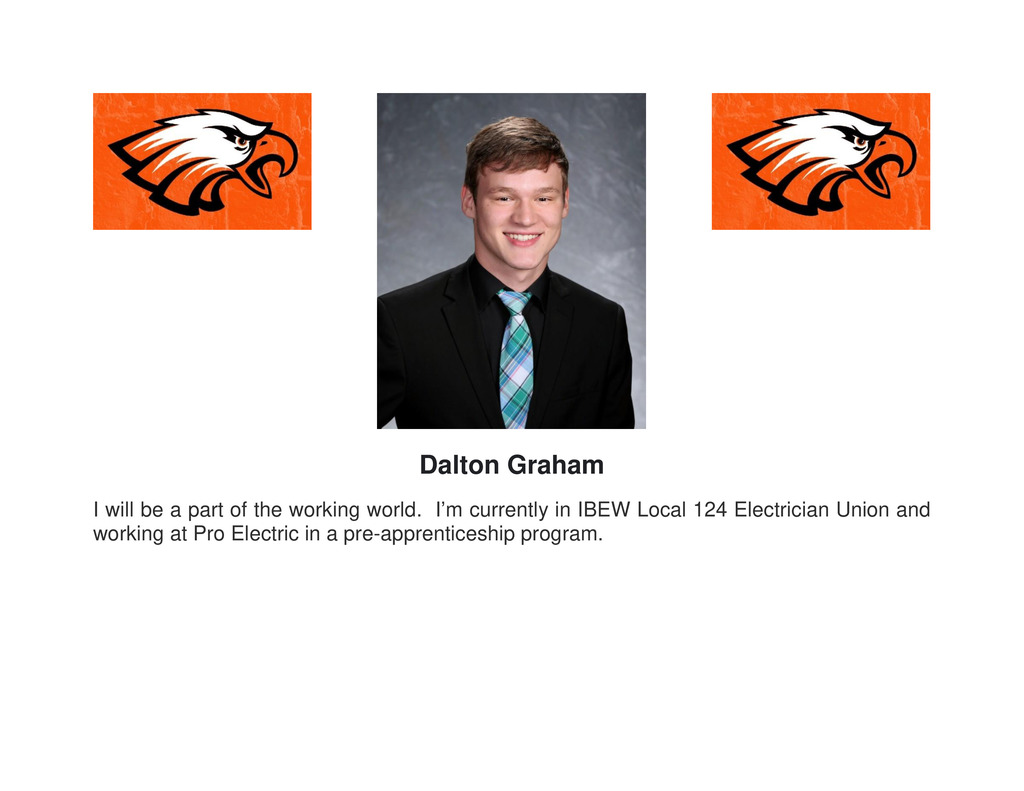 Picture of senior Dalton Graham