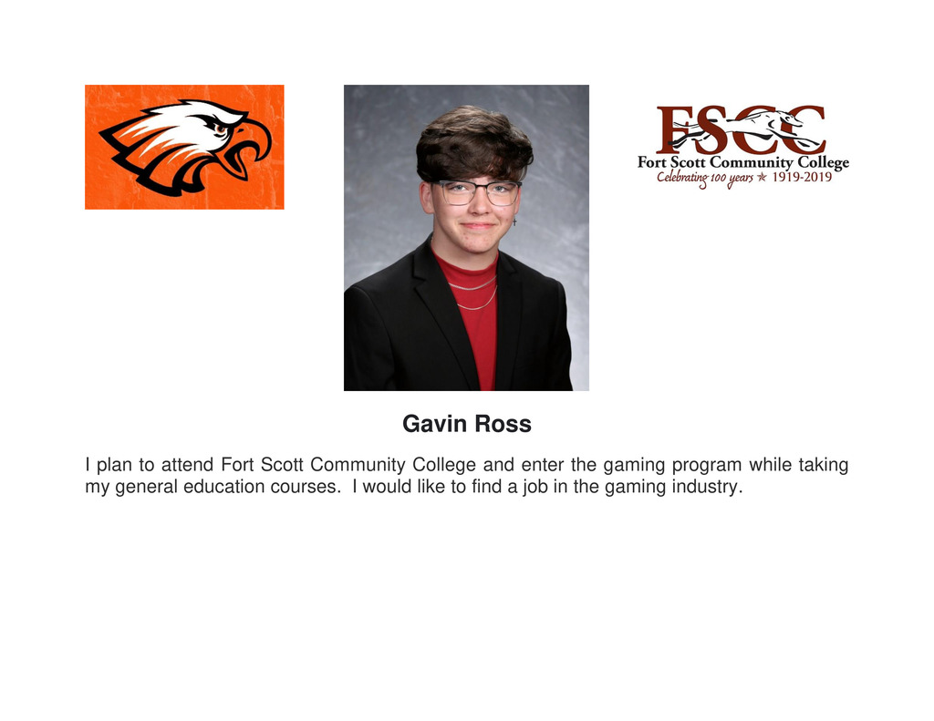 Picture of senior Gavin Ross