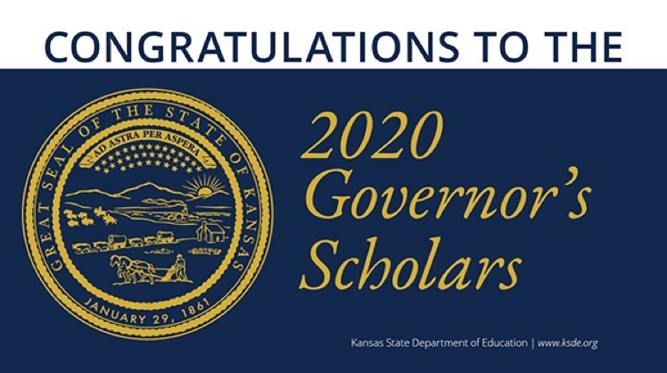 2020 Kansas Governor's Scholar Logo