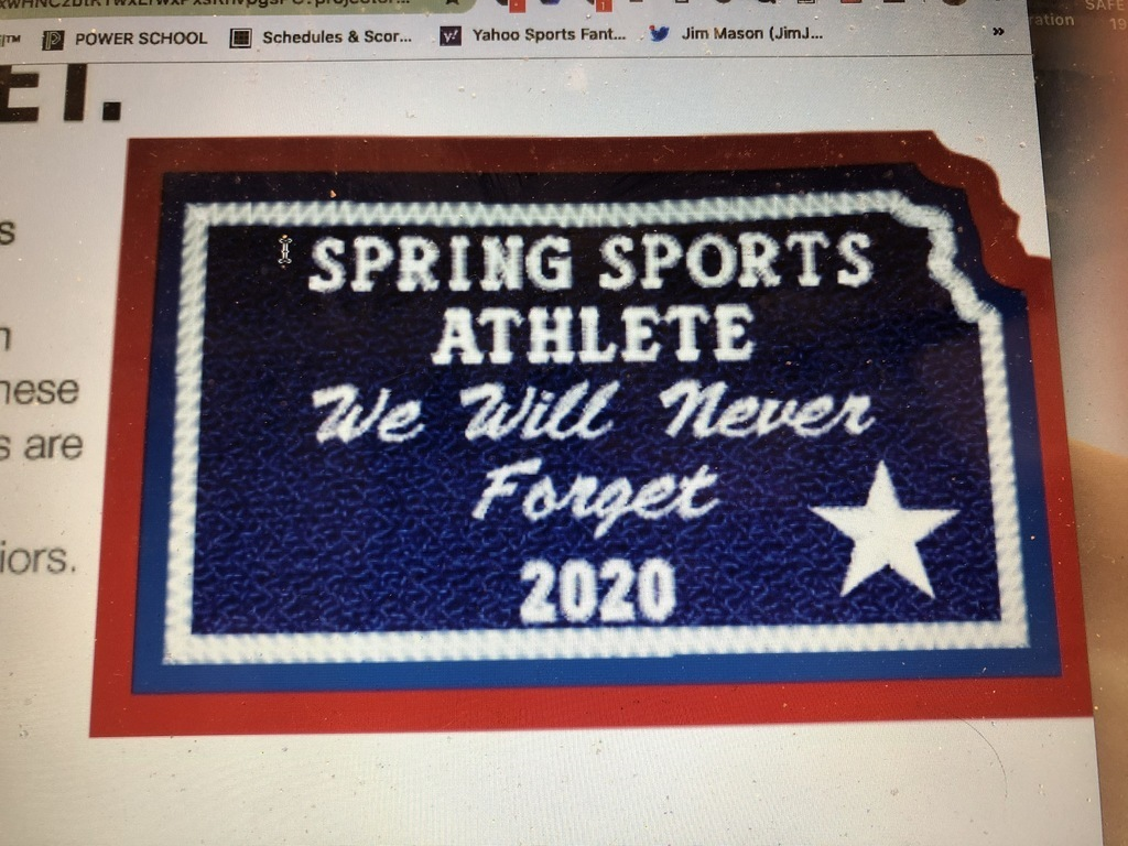 Spring Sport 2020 Athlete Patch Photo