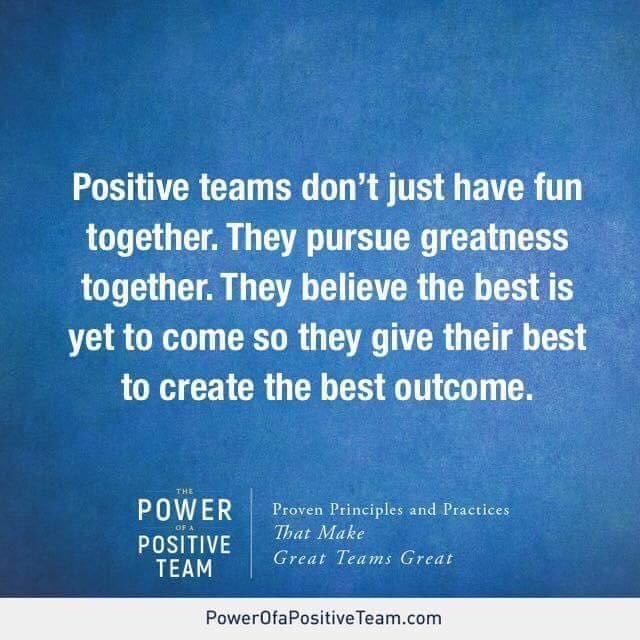 Author Jon Gordon Quote from The Power of a Positive Team